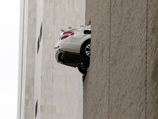 When Your Foot Gets Stuck on the Gas Pedal (10 pics)