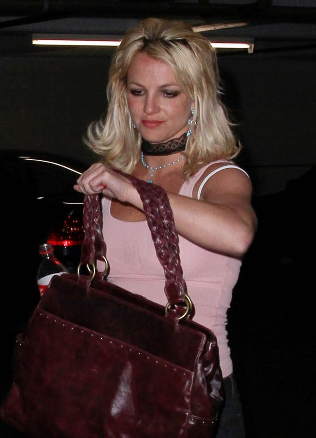 Britney Spears Looks Like a Middle-Aged Hooker (6 pics)
