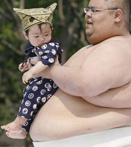 'Crying Sumo' for Babies (28 pics)