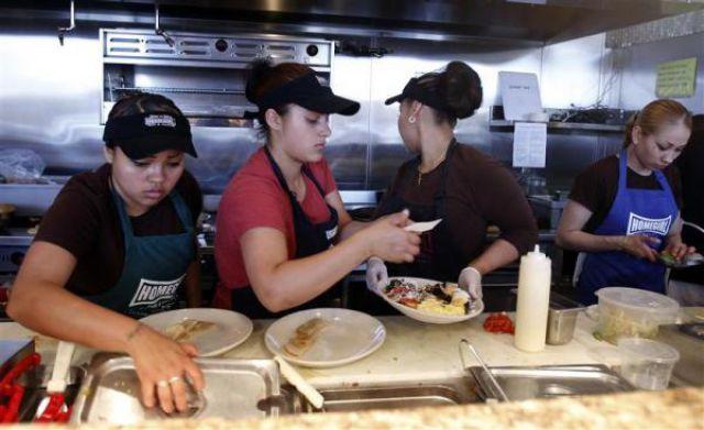 Homegirl Cafe with Curious Staff (16 pics)
