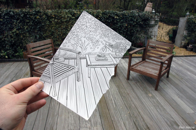 Amazing World of Drawings and Photos (12 pics)