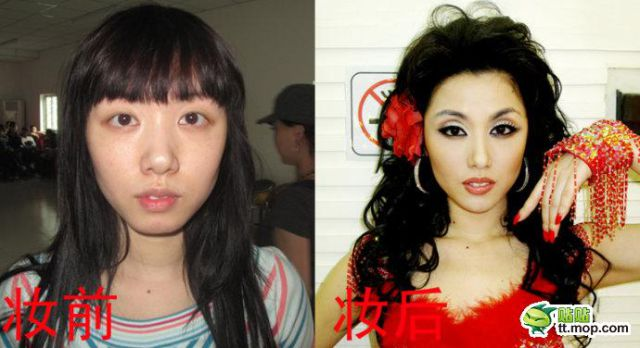 celebrities no makeup. 1 Chinese Celebrities: No