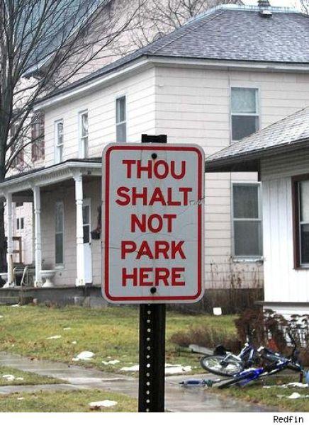 Funny No Parking Signs (30 pics)