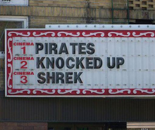 Hilarious Movie Marquees (30 pics)