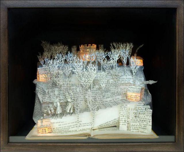 Book Sculptures (22 pics)