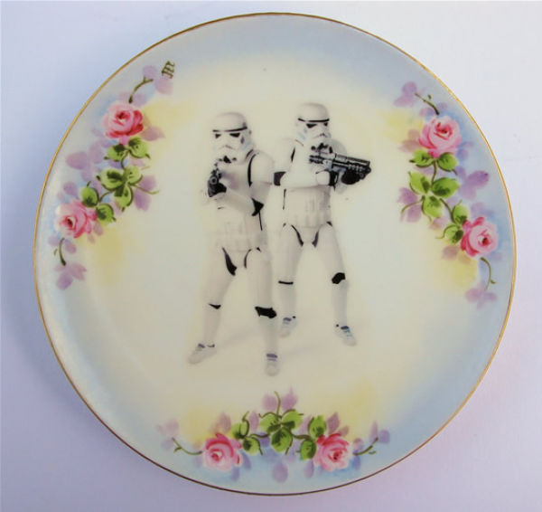 Awesome Star Wars Plates (11 pics)