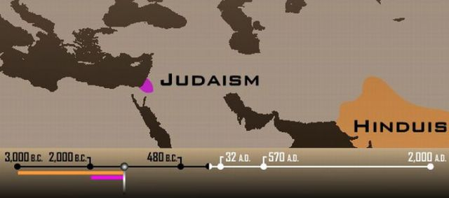 How Religions Spread All Over the World (26 pics)