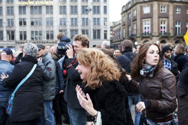 Panic in Netherlands Sparked by a Drunk Man (14 pics)