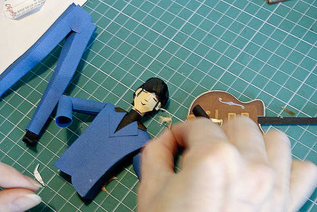 Cool Paper Craft Creations by Russians (46 pics)