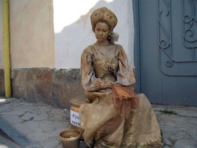 Ukrainian Living Statues Contest (57 pics)