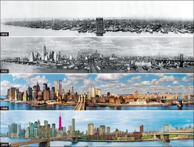 How New York Has Changed Since 1876 (3 pics)
