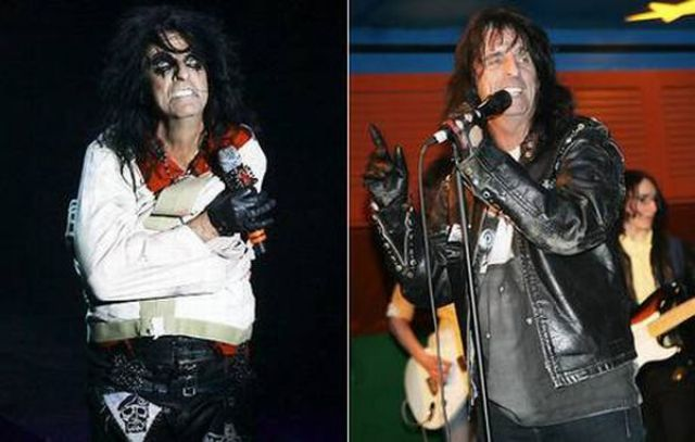 Rock Idols without Makeup (11 pics)