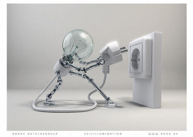 Incredibly Realistic 3D Robot Illustrations (24 pics)