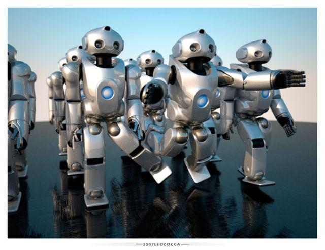 Incredibly Realistic 3D Robot Illustrations (24 pics)