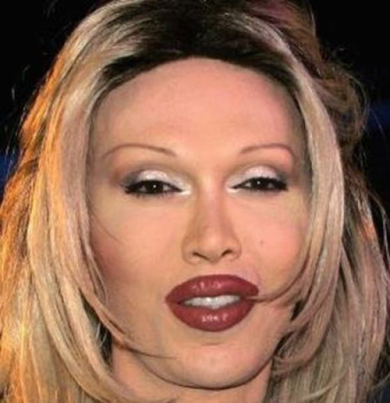 The Ugliest Faces of Famous People (11 pics)