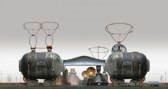 Habitat Machines Imagined by Dave Trautrimas (29 pics)