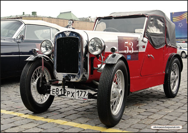 Rally of Vintage Cars (19 pics)