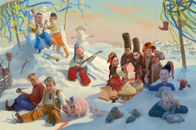 Unusual Russian Illustrations (46 pics)