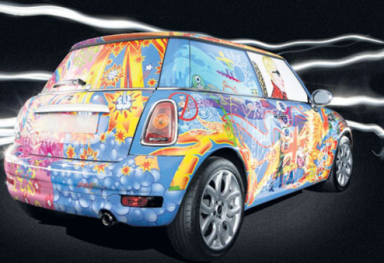Funny Car Paintings (25 pics)