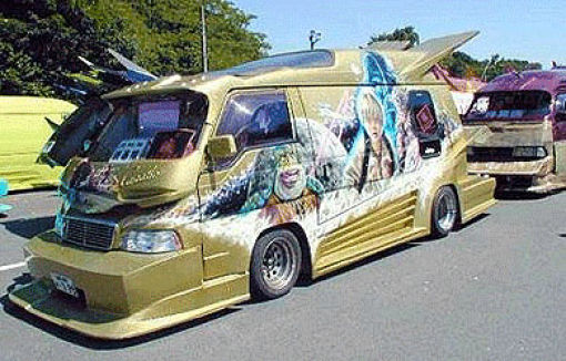 Funny Car Paintings (25 pics)