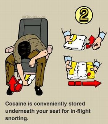 Izi Facebook Gallery: Hilarious In-Flight Safety Instructions