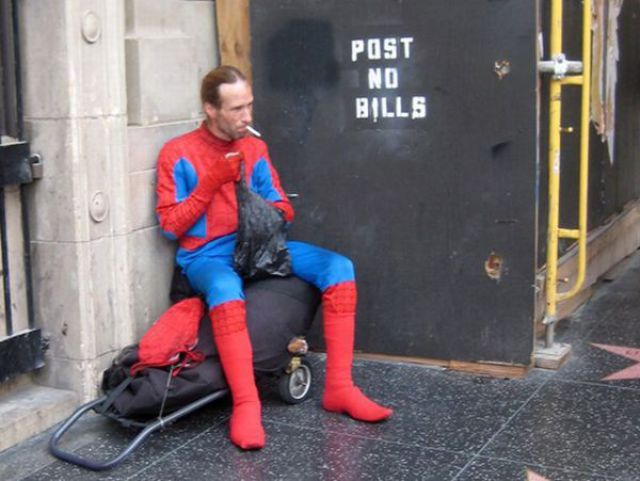If Heroes Were Homeless (17 pics)