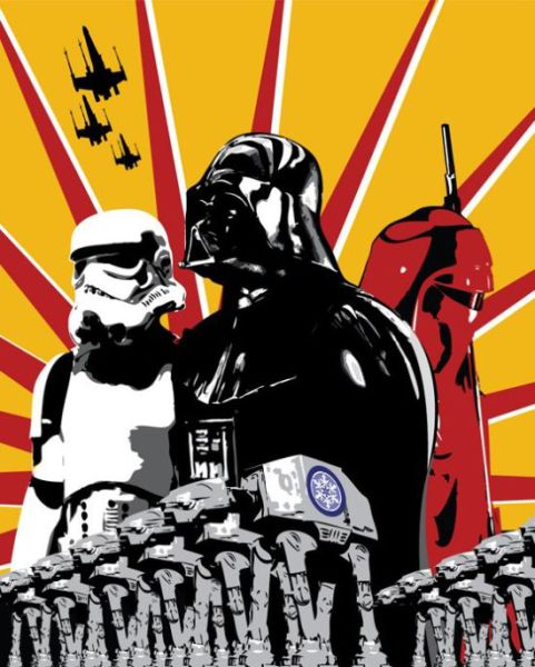 Awesome Propaganda Posters with Star Wars Theme (10 pics)