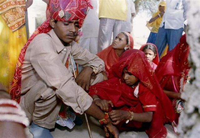Child Marriages in India (7 pics)