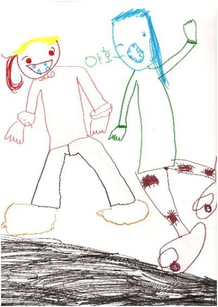 Disturbing Drawings Done by Kids (10 pics)