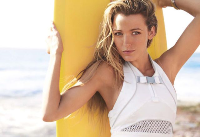 Hottie Blake Lively on the Vogue Pages (9 pics)