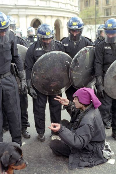 Photos of Protest in Its Many Forms (47 pics)