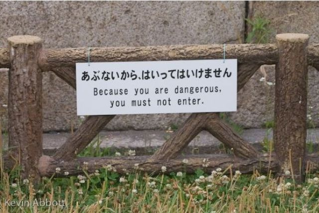 Various Signs Seen Around the World. Part 2 (59 pics)