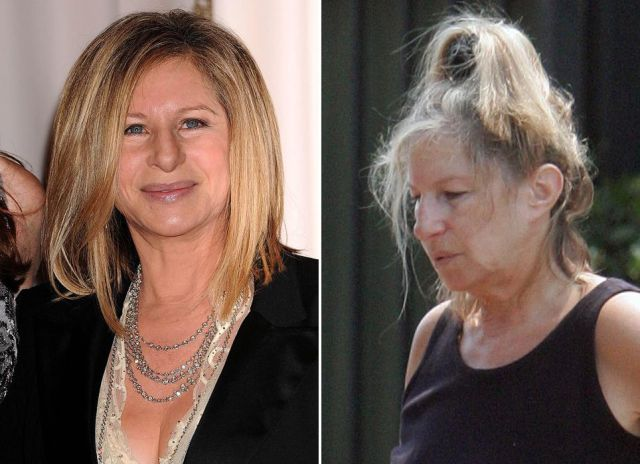 Celebrities with and without Make-Up. Part 2 (10 pics)