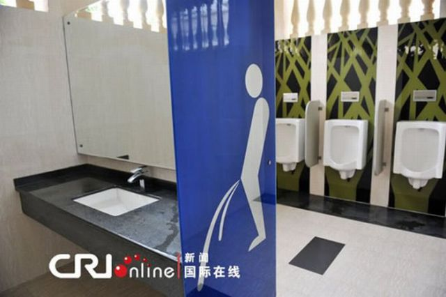 Chinese Two-Story Public Toilet (6 pics)