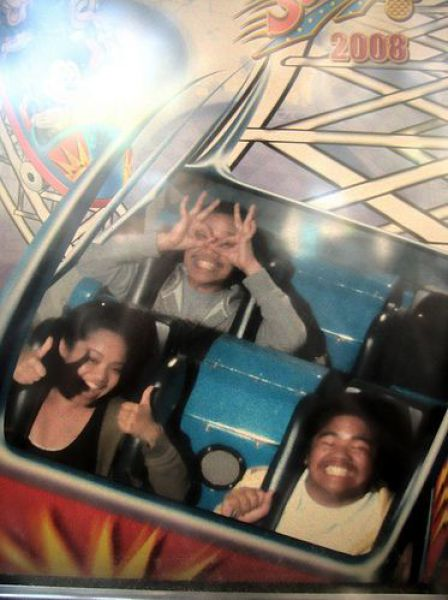 Funny Faces during Roller Coaster Ride. Part 2 (47 pics)