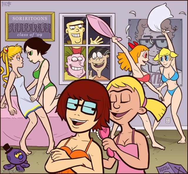 Famous cartoons 4 adults