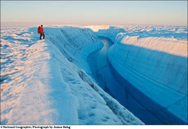 Greenland - the Evolution of Ice (12 pics)