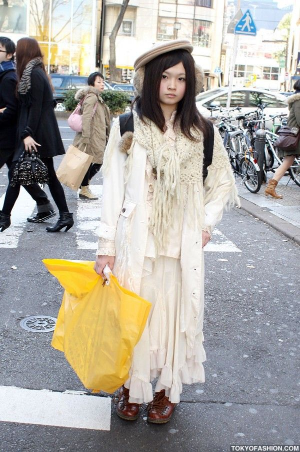 Street Fashion in Japan (77 pics)