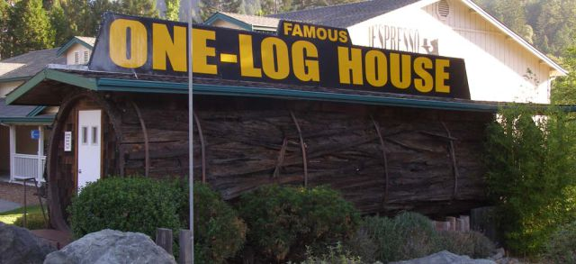The Famous One Log House (23 pics)