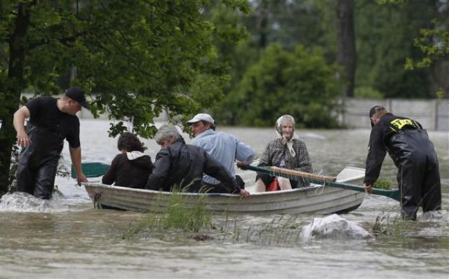 Extreme Floods in Europe (42 pics)