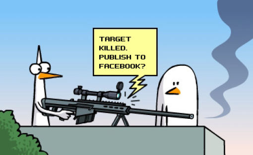 Funny Comics with Guns (4 pics)