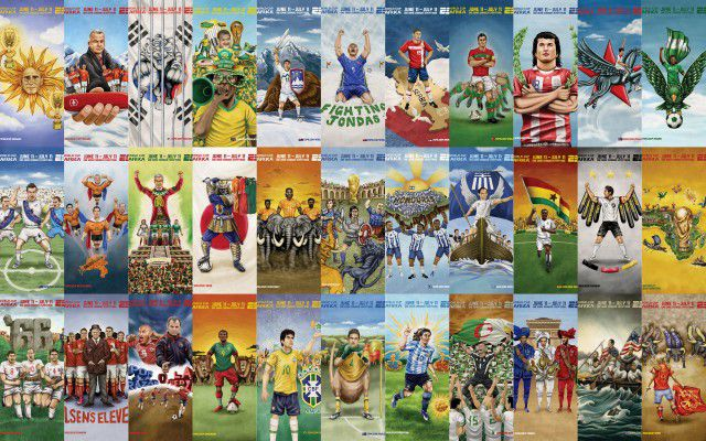 Amazing World Cup Art (33 pics)