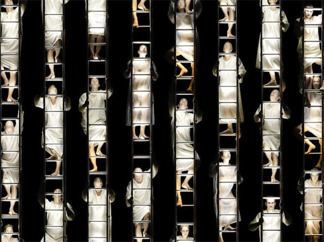 According to Photographer Claudia Rogge: There's No Individuality, We Are Part of the Mass (10 pics)