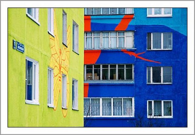 Beautifully Colored Buildings (20 pics)
