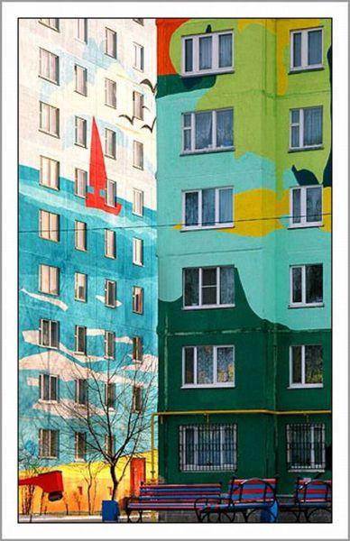 Beautifully Colored Buildings (20 pics)