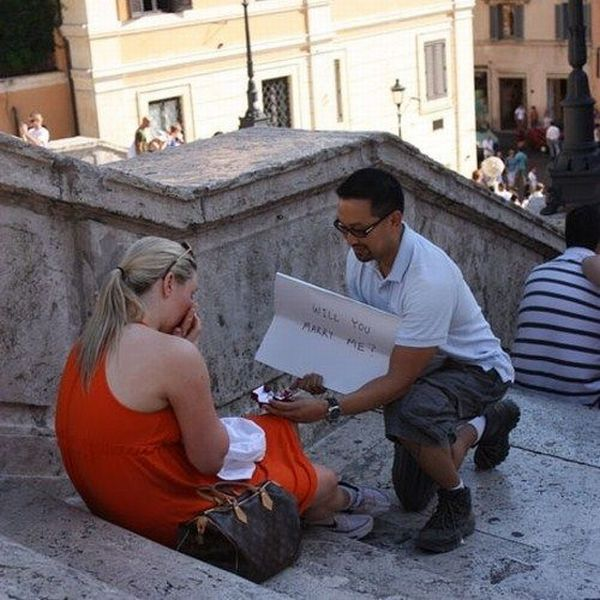 Different but Romantic Proposals (34 pics)