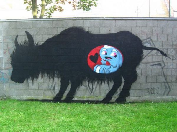 Animal Street Graffiti (33 pics)