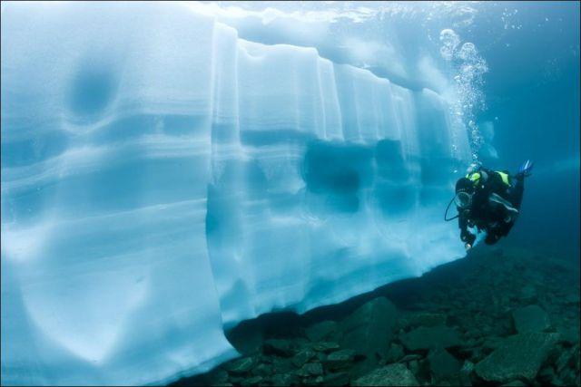 The Underwater World of an Alpine Lake (10 pics)