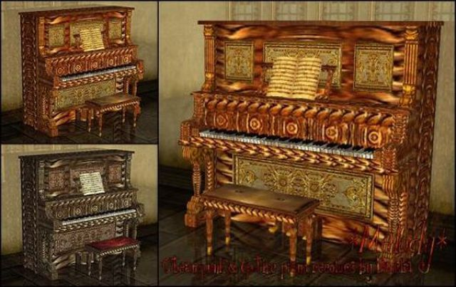 Creative and Unusual Piano Designs (18 pics)