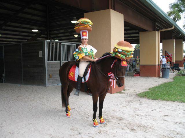 A McDonald's Cowboy (1 pic)